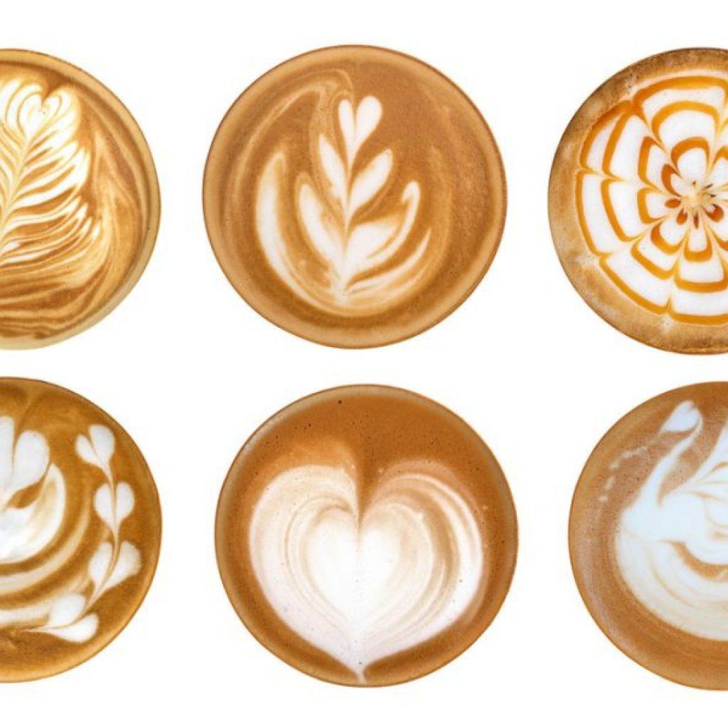 coffee designs for latte art