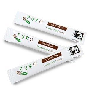 Puro Fairtrade Freeze Dried coffee sticks